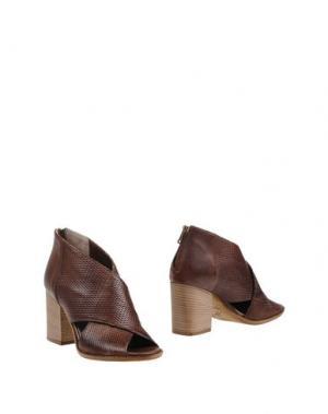 Ботинки KEB. Цвет: какао