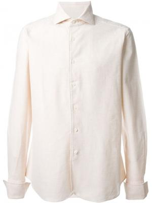 Классическая рубашка Al Duca D'Aosta 1902. Цвет: телесный