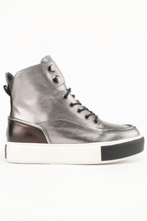 Ботинки NURIA. Цвет: черный никель