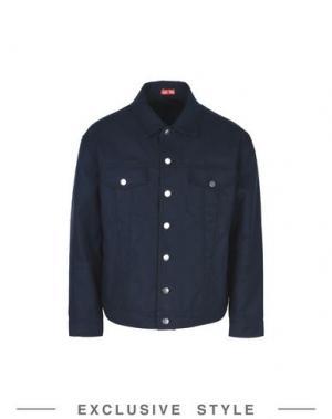 Куртка ARTHUR ARBESSER x YOOX. Цвет: темно-синий