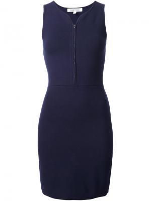 Платье без рукавов Elizabeth And James. Цвет: синий