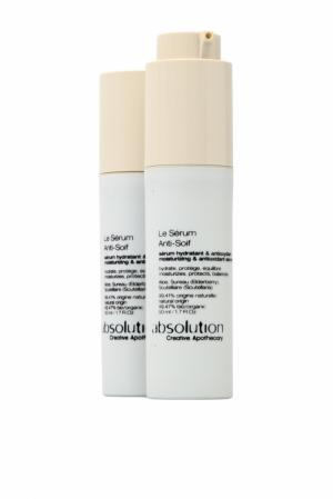 Сыворотка для лица увлажняющая антиоксидантная Le Serum Anti-Soif 50ml Absolution. Цвет: без цвета
