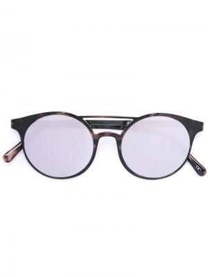 Солнцезащитные очки Demo Mode Le Tough Specs. Цвет: коричневый