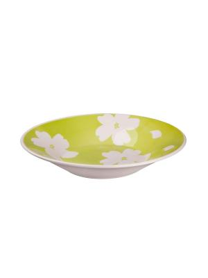Набор тарелок суповых ЖАСМИН 22 см 6 шт Biona. Цвет: белый