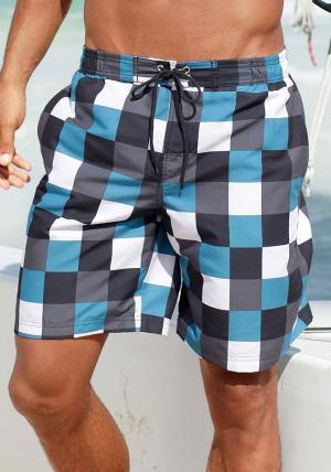 Пляжные шорты Otto. Цвет: синий