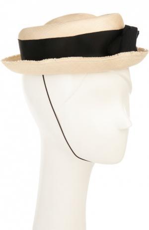 Шляпа Benoit Missolin. Цвет: бежевый