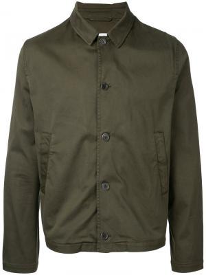 Куртка Groundhogs YMC. Цвет: зелёный