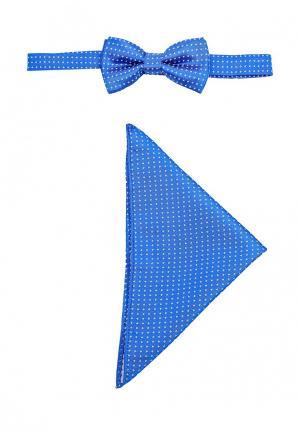 Бабочка Piazza Italia. Цвет: голубой