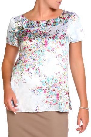 Блуза LOLA PALTINGER. Цвет: белый