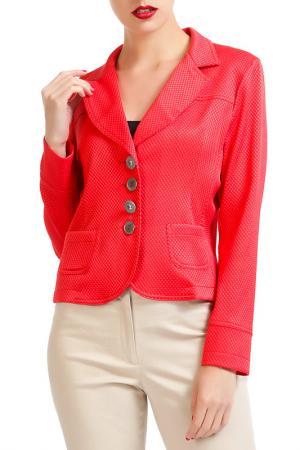 Жакет Isaco & Kawa. Цвет: красный