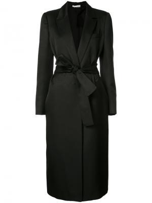 Классическое пальто Barbara Casasola. Цвет: чёрный