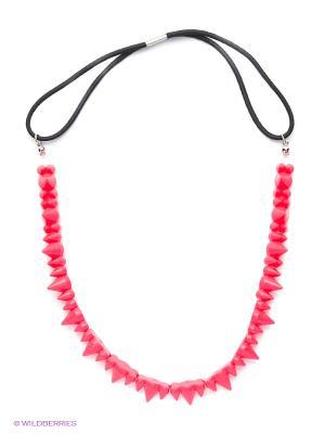 Ожерелье на шею с шипами NEONОстрая ягода в ассортименте Daisy Design. Цвет: розовый