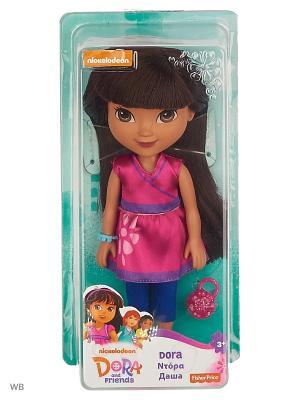 Даша и друзья Куклы в ассортименте Mattel. Цвет: малиновый