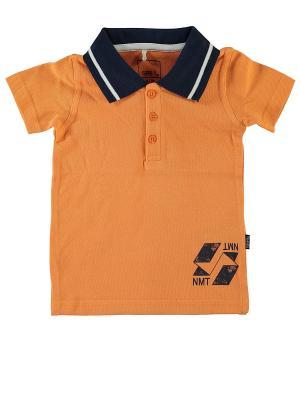 Рубашка NAME IT. Цвет: оранжевый