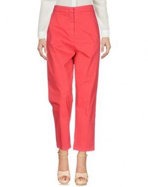 Повседневные брюки 2W2M. Цвет: красный