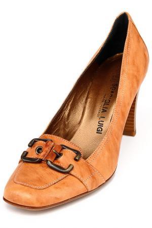 Туфли Luigi Sgariglia. Цвет: коричневый