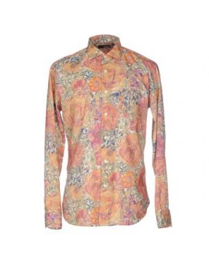 Pубашка RRD. Цвет: абрикосовый