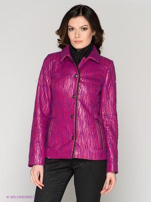 Куртка RIO VERTI. Цвет: фуксия, фиолетовый