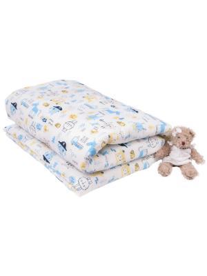 Одеяло с пододеяльником 110х140 Пират DAISY. Цвет: белый