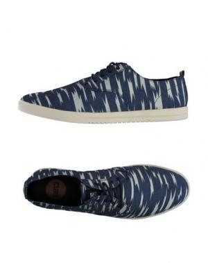 Низкие кеды и кроссовки CLAE. Цвет: грифельно-синий