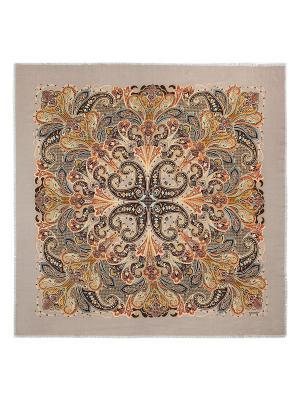 Платок Eleganzza. Цвет: коричневый, бежевый, оранжевый
