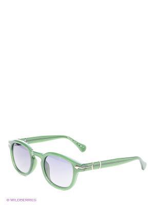 Солнцезащитные очки Opposit. Цвет: зеленый