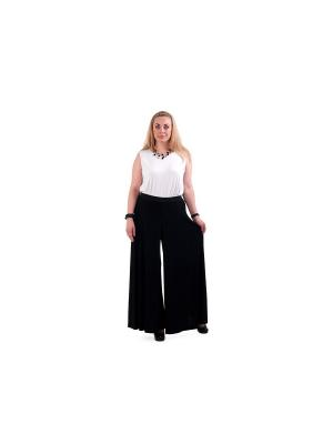 Юбка-брюки OLSI. Цвет: черный