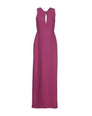 Длинное платье RAOUL. Цвет: светло-фиолетовый