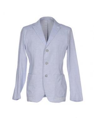 Пиджак FAÇONNABLE. Цвет: небесно-голубой