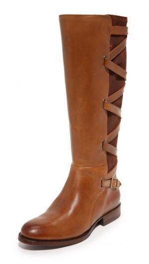Высокие сапоги с ремешками Jordan Frye. Цвет: коричневый