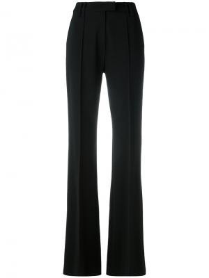Классические брюки прямого кроя Plein Sud. Цвет: чёрный