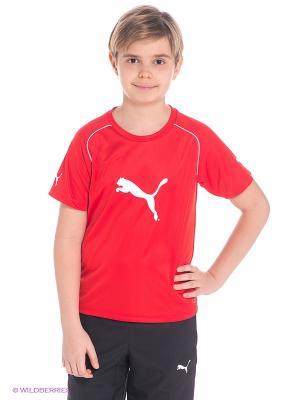Футболка Ringer Jersey Puma. Цвет: красный