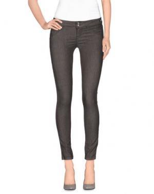 Джинсовые брюки JCOLOR. Цвет: хаки