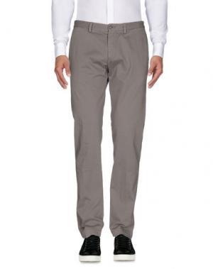 Повседневные брюки JEY COLE MAN. Цвет: светло-серый