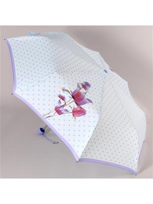 Зонт Airton. Цвет: белый, сиреневый