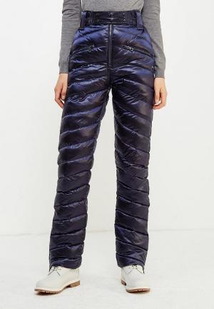 Брюки утепленные Conso Wear. Цвет: синий