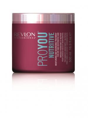 Маска увлажн. и питат. PROYOU NUTRITIVE 500 мл Revlon Professional. Цвет: темно-бордовый
