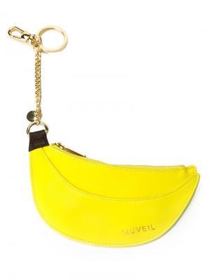 Брелок в форме бананов Muveil. Цвет: жёлтый и оранжевый