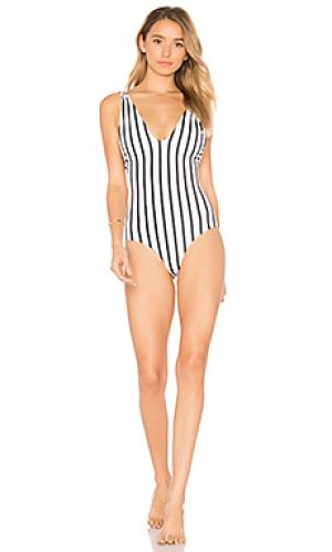 Слитный купальник elena Tori Praver Swimwear. Цвет: ivory