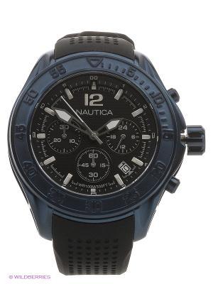 Часы Nautica. Цвет: синий