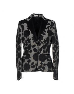 Пиджак MANUEL RITZ. Цвет: черный