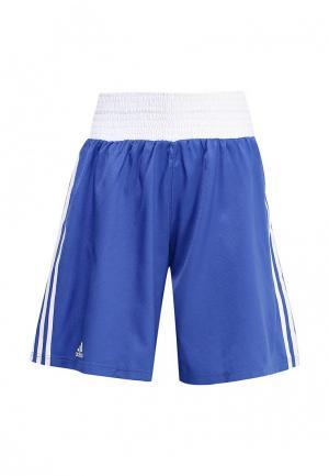 Шорты спортивные adidas Combat. Цвет: синий