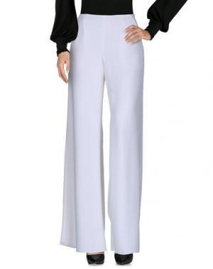 Повседневные брюки IVAN MONTESI. Цвет: белый