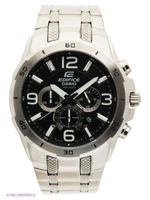 Часы EDIFICE EFR-538D-1A CASIO. Цвет: серебристый