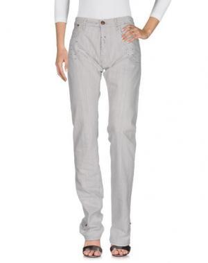 Джинсовые брюки IT'S MET. Цвет: светло-серый