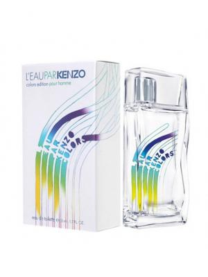 Leau Par Kenzo Colours man edt 50 ml. Цвет: светло-серый