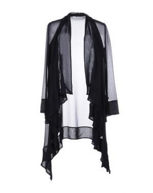 Легкое пальто GAI MATTIOLO. Цвет: темно-синий