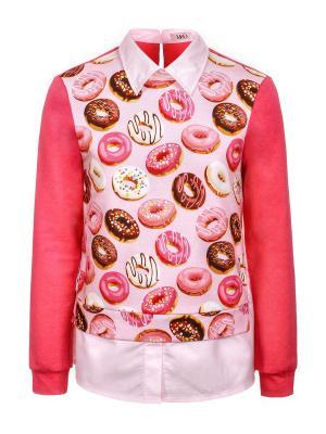 Джемпер M&DCollection. Цвет: розовый