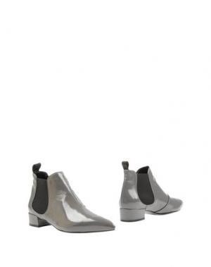 Полусапоги и высокие ботинки SIGNATURE. Цвет: серый