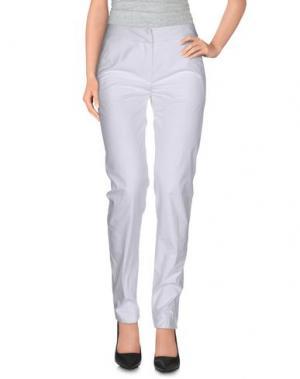 Повседневные брюки MAURIZIO PECORARO. Цвет: белый